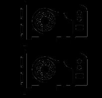 Переходник на две видеокарты