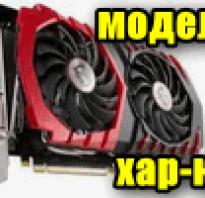 Размер памяти видеокарты