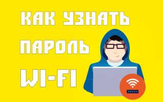 Tp link как посмотреть пароль wifi