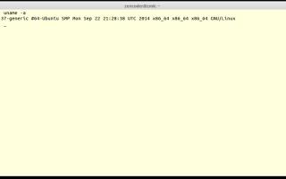 Linux узнать разрядность системы