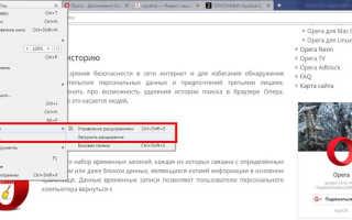 Переводчик встроенный в браузер опера