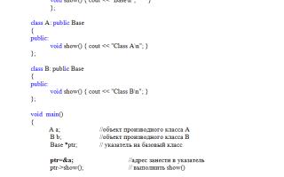 Полиморфизм это в программировании