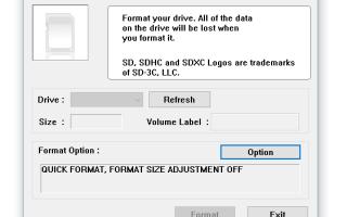 Не форматируется флешка microsd