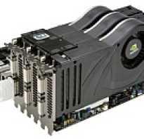 Видеокарты с 2 процессорами