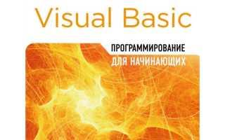 Программирование в visual basic net