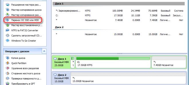 Перенос данных с hdd на ssd