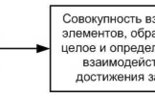 Организация как социально экономическая система это