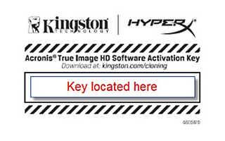 Kingston перенос системы на ssd