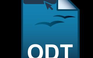 Открыть файл опен офис онлайн